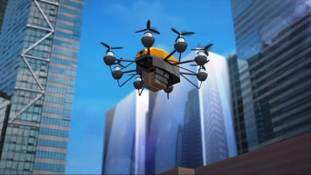Singapore delivery drone