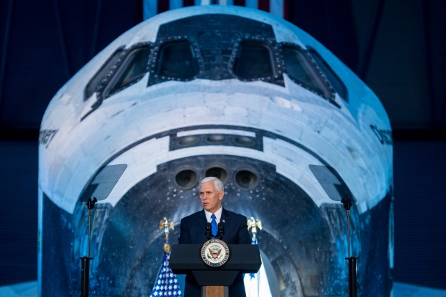 Mike Pence and Discovery