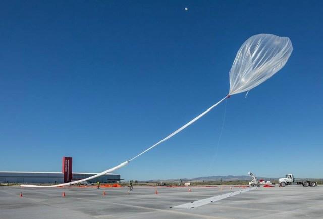 World View Stratollite balloon