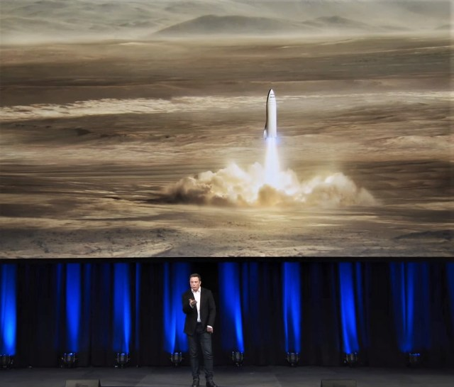 BFR talk by Elon Musk