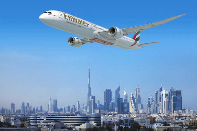 Emirates 787 Dreamliner