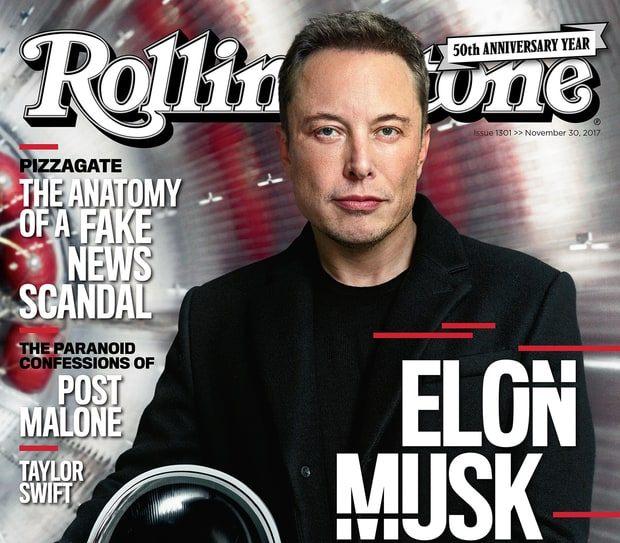 Elon Musk on Rolling Stone