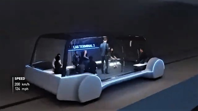 Electric-powered bus