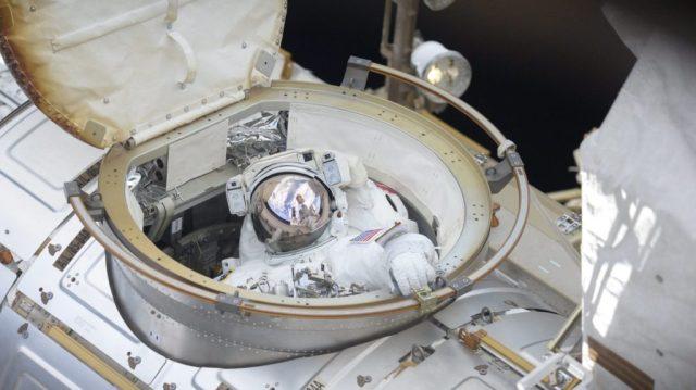 Spacewalker Ricky ARnold
