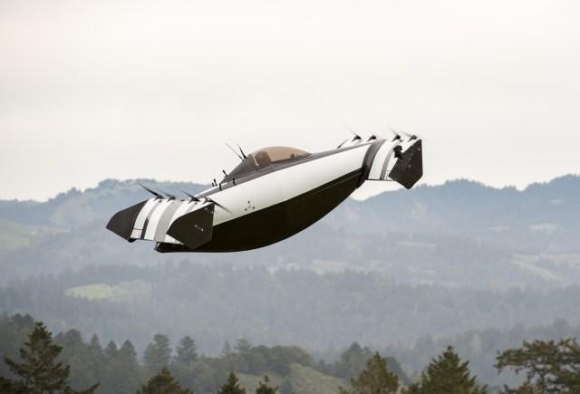 BlackFly in flight