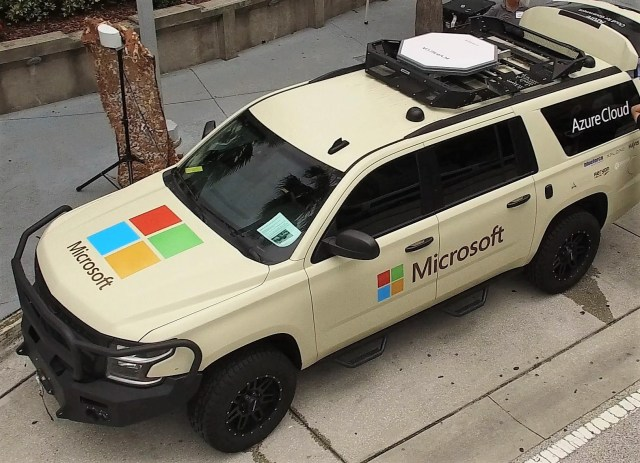 Microsoft connected car