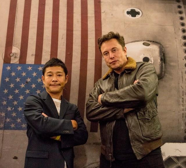Maezawa and Musk