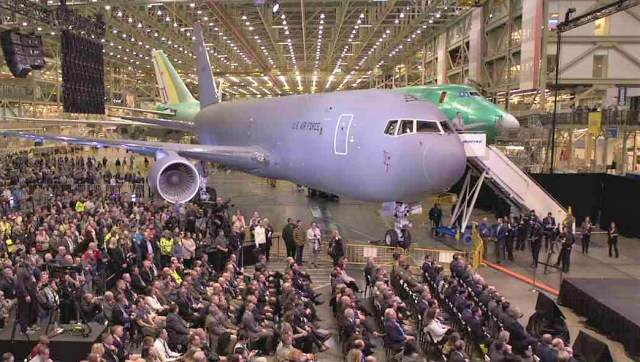 KC-46 tanker ceremony