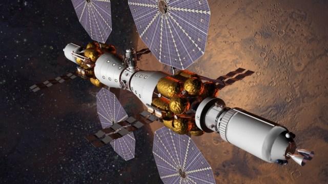 Mars orbital complex