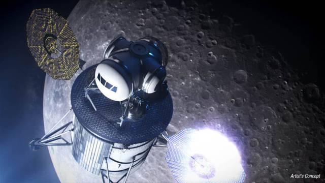 Lunar landing system