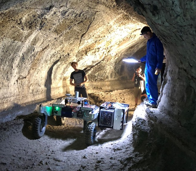 Cave rover team