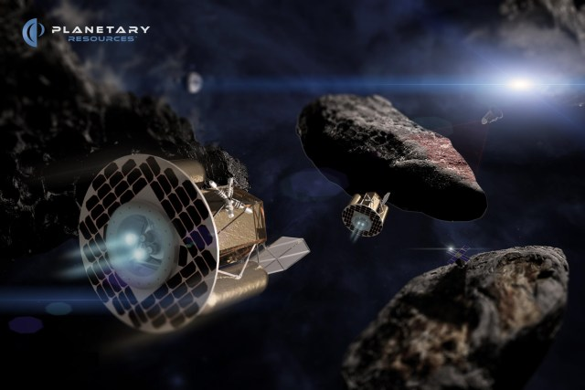 Planetary Resources asteroid mining