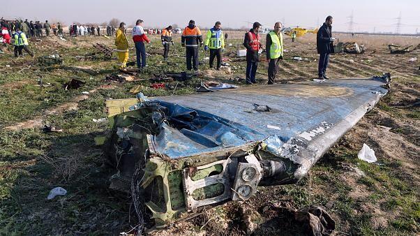 Iran crash site