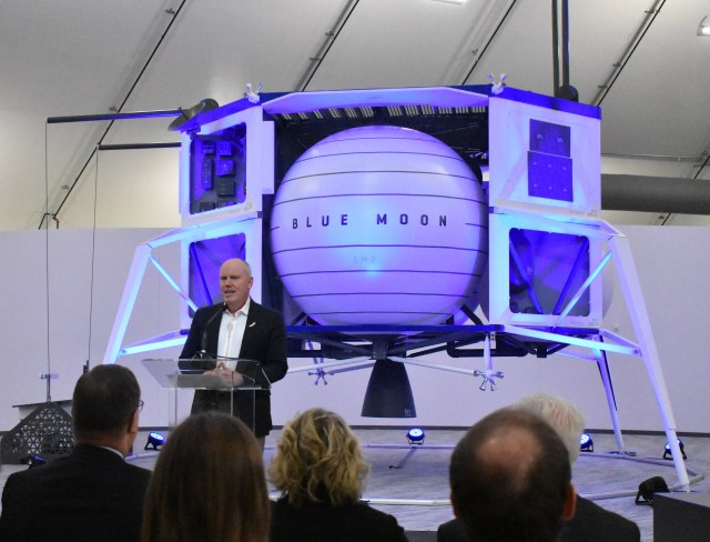 Bob Smith at Blue Origin HQ