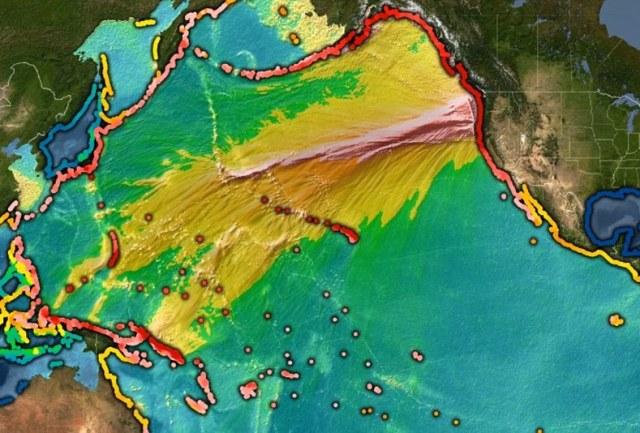 1700 tsunami effect