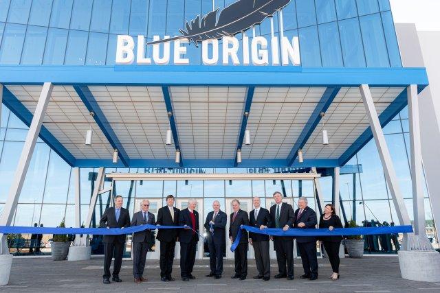 Blue Origin factory opening in Alabama