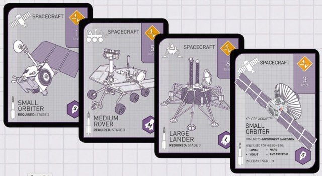 Xtronaut 2.0 playing cards