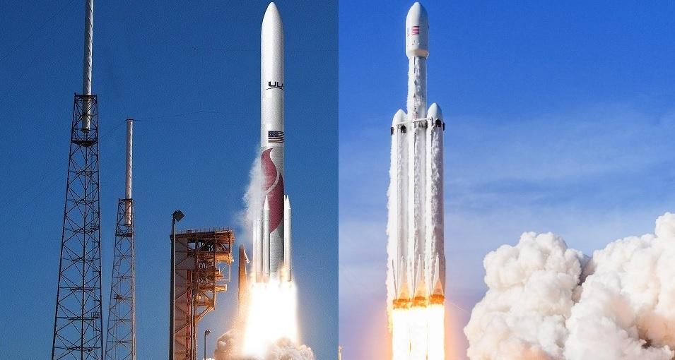 Vulcan and Falcon Heavy