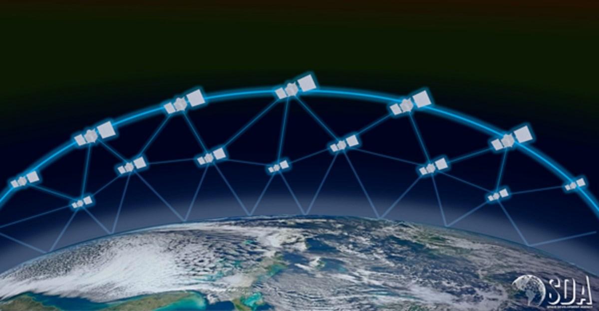 Linked satellites