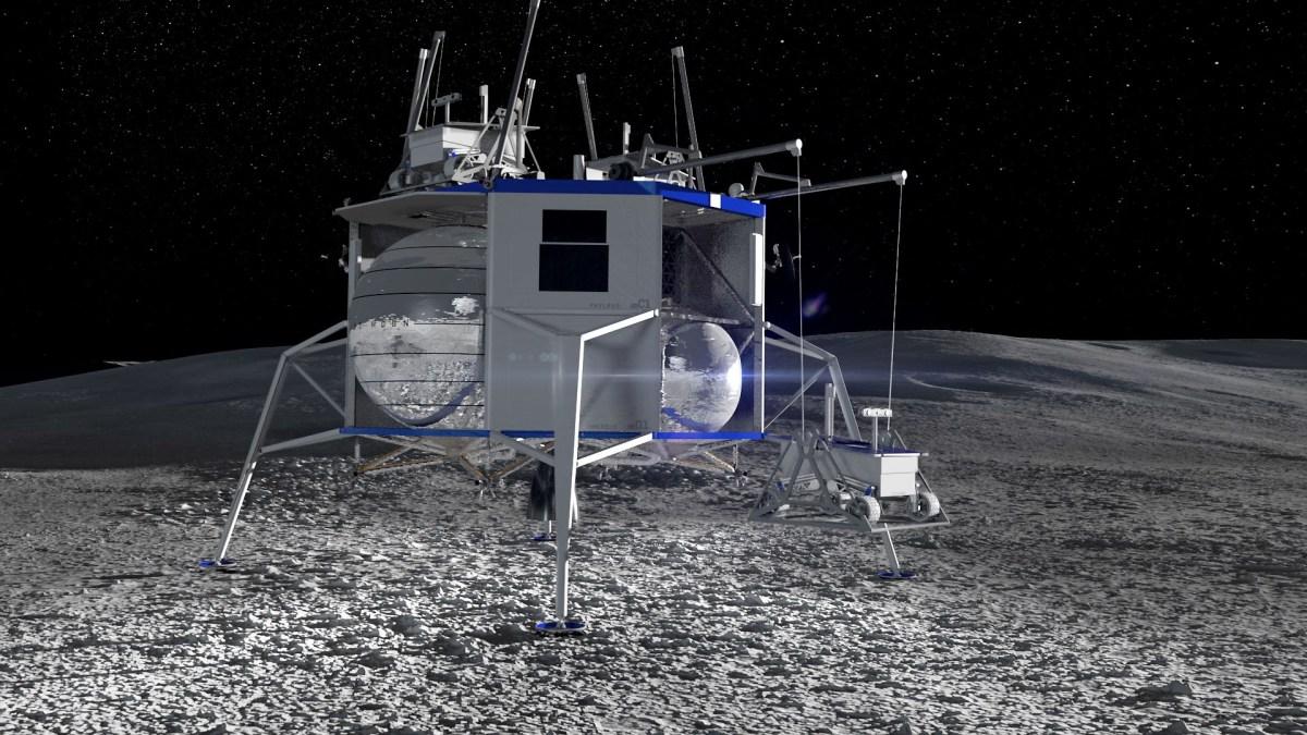 Blue Origin cargo lander