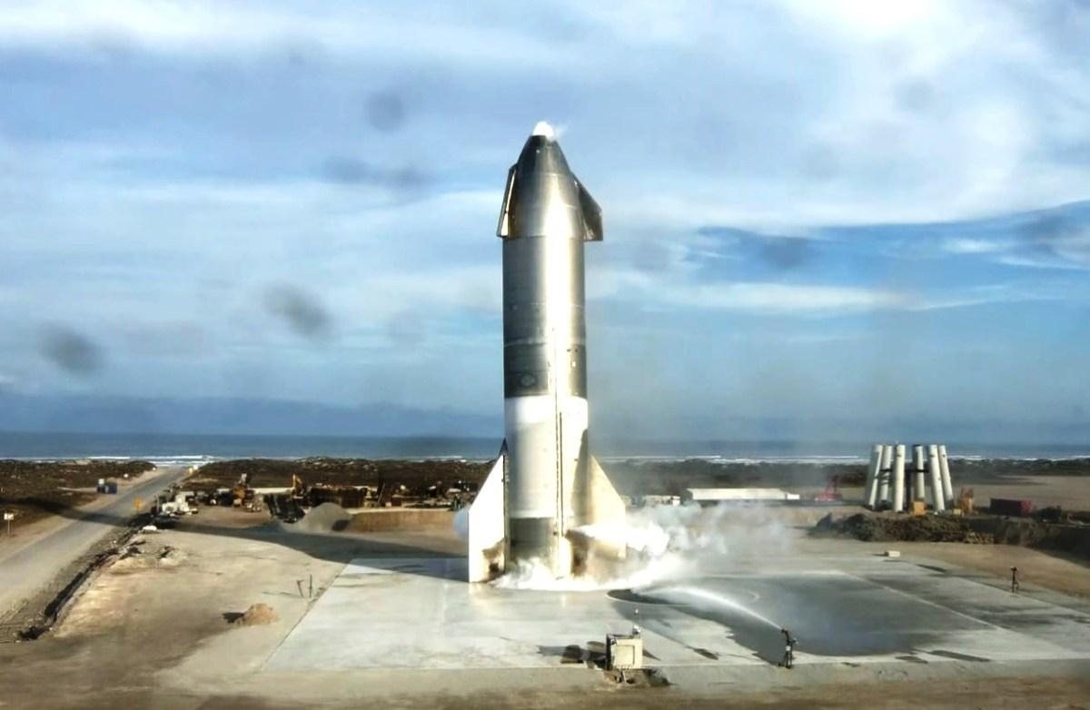 SpaceX Starship landing