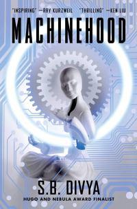 """""""Machinehood"""" dust jacket"""