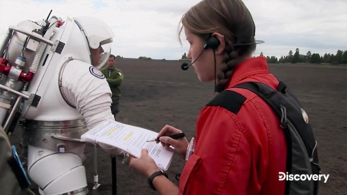 Spacesuit check