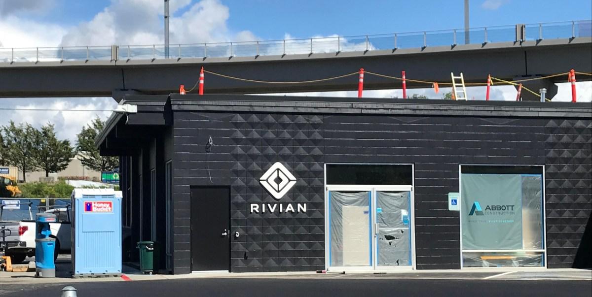 Rivian service center in Bellevue