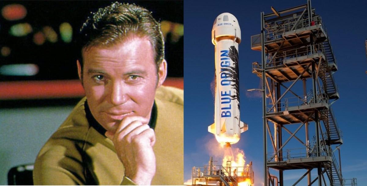 William Shatner and New Shepard