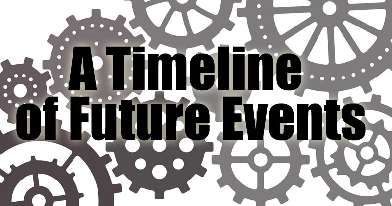 A Timeline of Future Events