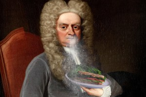 Newton Sneezing on a Sandwich