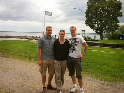 L, jag och lillebror :)