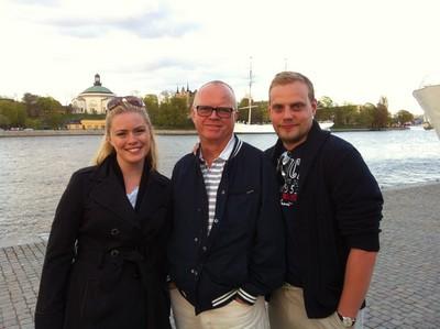 Jag, pappa och L.