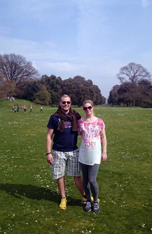 I Kew Gardens.