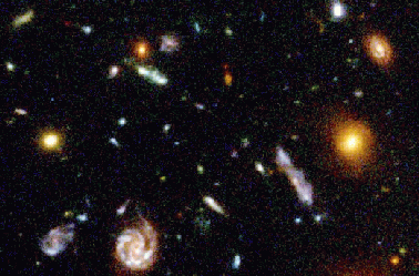 Universe in a box formation of largescale structure
