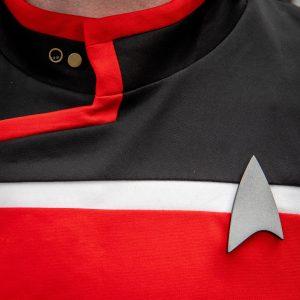 star trek lower decks cosplay badge and pips set
