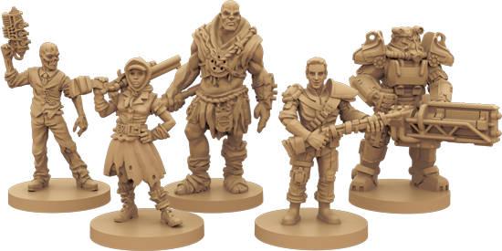 Fallout jeu de plateau - figurines