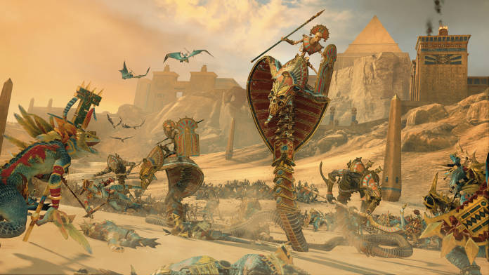 Total War Warhammer 2 DLC Rise of the Tomb Kings - Combat