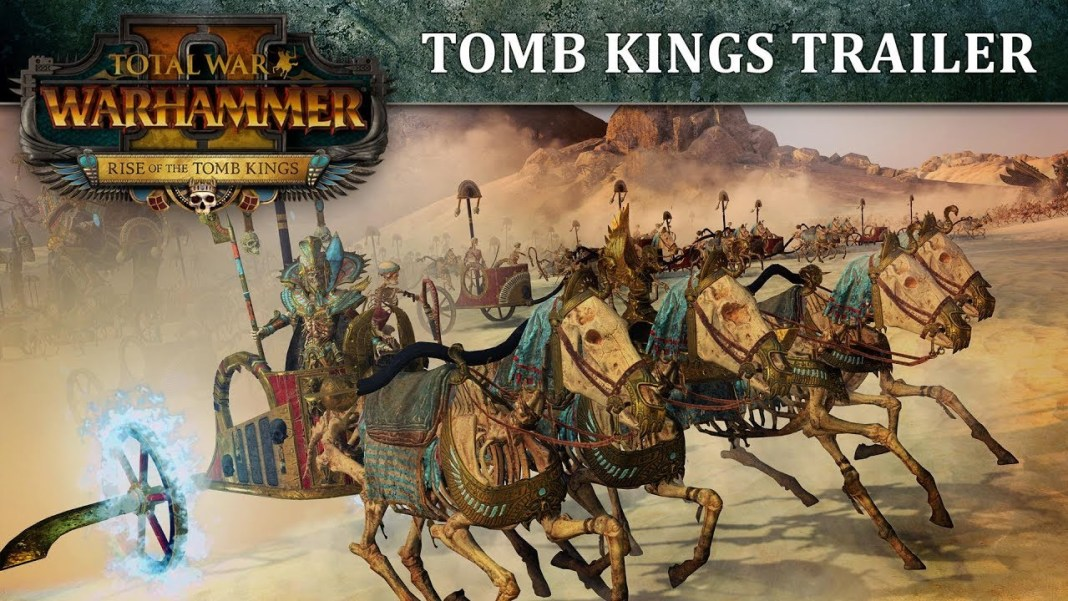 Total War Warhammer 2 DLC : Rise of the Tomb Kings