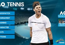 AO Tennis - Mobile iOS Android