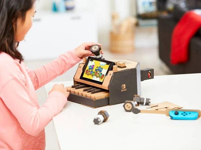 Nintendo Lab - Cardboard - Modèle Piano