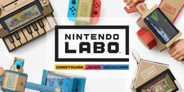 Nintendo Labo - périphérique en carton - Cardboard