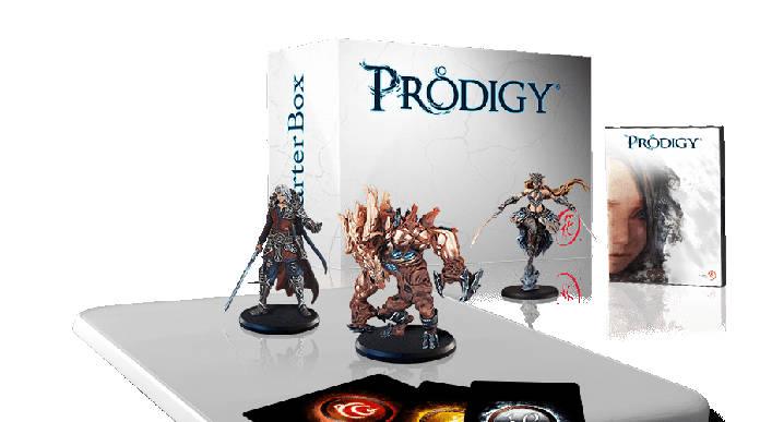 Prodigy - Jeux vidéo - Plateau connecté - Boite et figurines