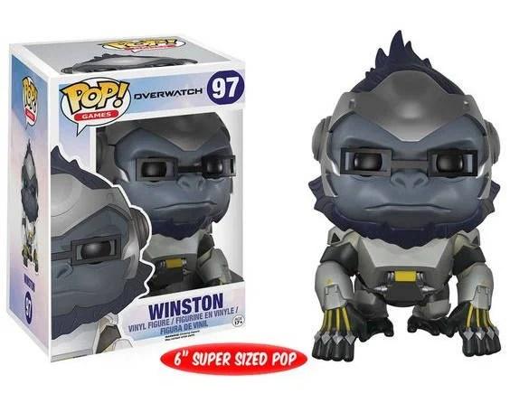 Super Sized Winston Overwatch - Figurine Pop