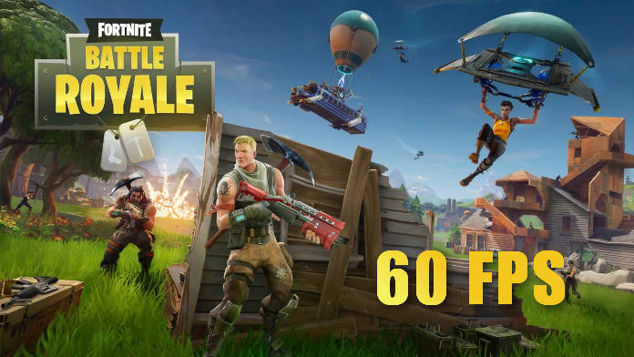 Fortnite - mode 60 fps - mise à jour