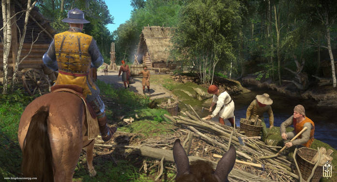 Kingdom Come Deliverance - Test - chevalier sur le route