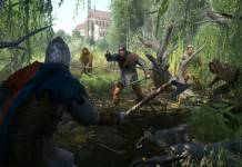Kingdom Come Deliverance - Test - combat dans la forêt