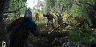 Kingdom Come Deliverance - Test - combat dans la forêt