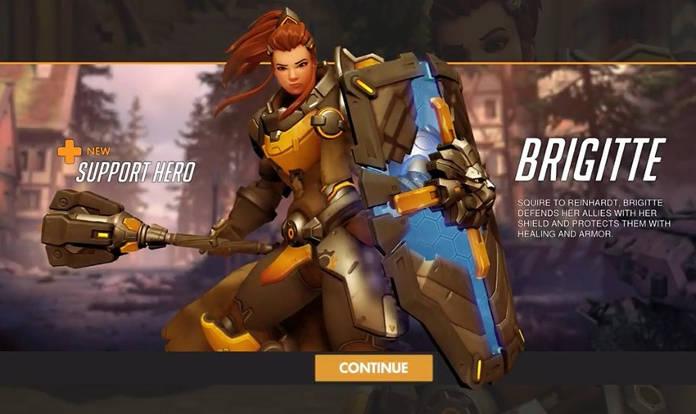 Overwatch - Nouveau personnage Brigitte - Capacités et histoire - Héros de soutien