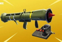 Fortnite - Comment monter sur le missile guidé